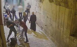 פיגוע הדקירה בירושלים (צילום: דוברות המשטרה)