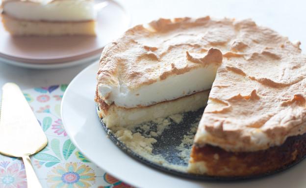 עוגת קצף גבינה ענתיקה (צילום: קרן אגם, אוכל טוב)