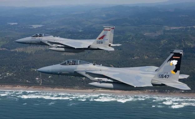 הטייסת בפעולה (צילום: משרד ההגנה האמריקני)
