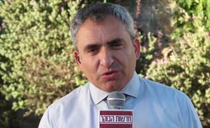 """השר זאב אלקין על האפשרות לבחירות חדשות (צילום: מתוך """"חדשות הבוקר"""" , קשת 12)"""
