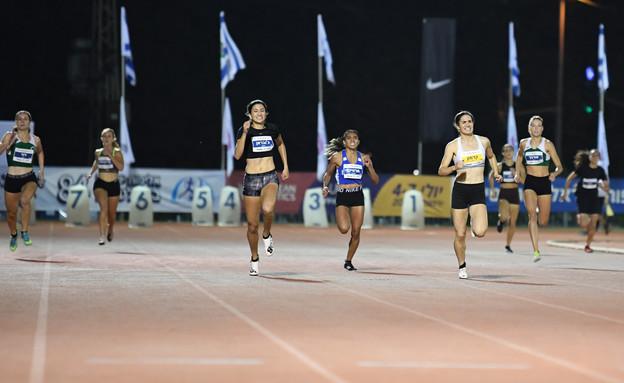ג'ומאן ג'ובראן בתחרות ריצה (צילום: מקסים דופליי)