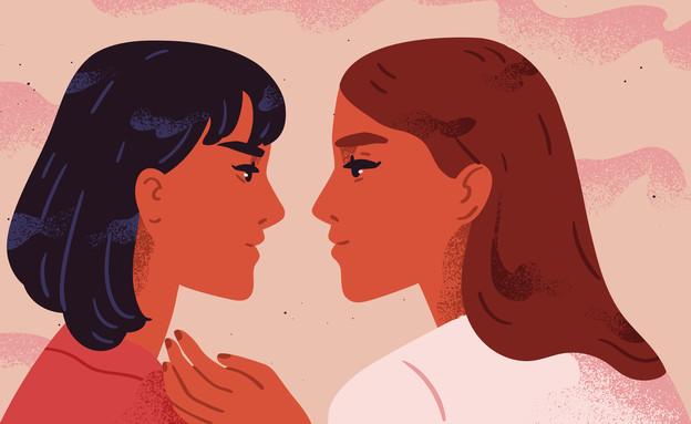 """""""אף פעם לא חשבתי שזה אפשרי להיות במערכת יחסים עם אישה"""" (צילום: GoodStudio, Shutterstock)"""