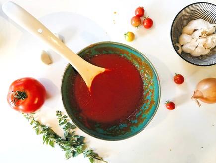 רוטב עגבניות - המרכיבים
