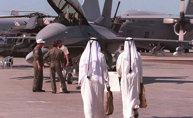 מטוסי צבא בדובאי (צילום: PATRICK BAZ/AFP, GettyImages)