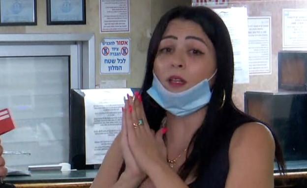 פנינה ממן מנהלת בית מלון הים האדום באילת (צילום: החדשות 12)