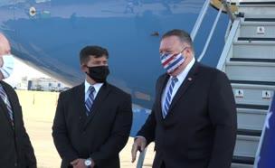 שר החוץ האמריקני מייק פומפאו  מבקר בישראל (צילום: Ziv Sokolov / U.S. Embassy Jerusalem, חדשות)