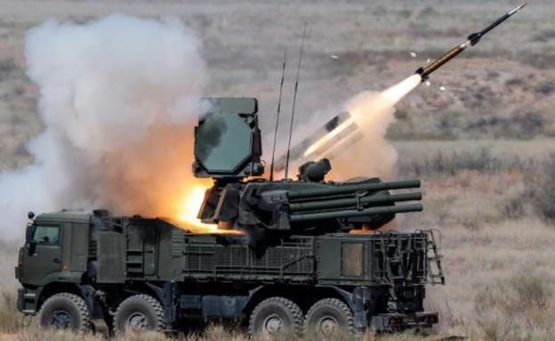 נשק רוסי בסוריה (צילום: EmbassyofRussia@Twitter)