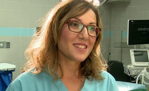 """ד""""ר ענבל ברוך: בקרוב מנתחת הלב השנייה בישראל (צילום: חדשות)"""