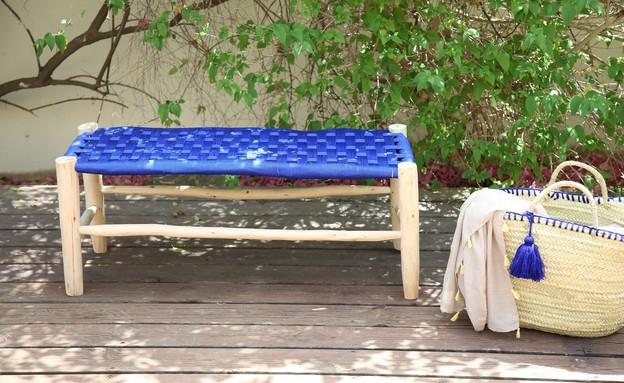 ריהוט גינה, ספסל, גיטה כלים של פעם, 499 שקל (צילום: נעמי ים סוף)
