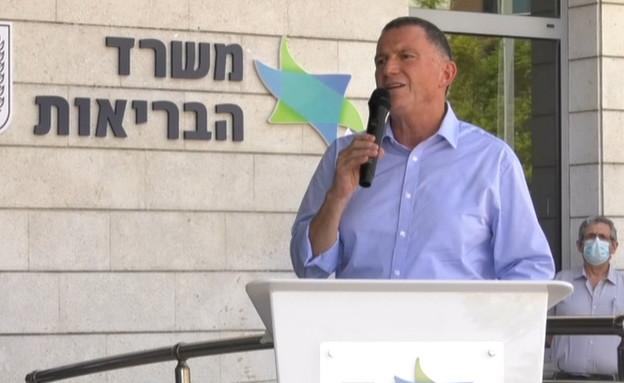 שר הבריאות יולי אדלשטיין (צילום: החדשות 12)
