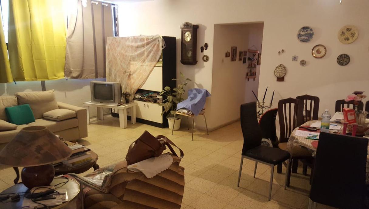 דירה בתל אביב, עיצוב נועה סביר, לפני שיפוץ - 5