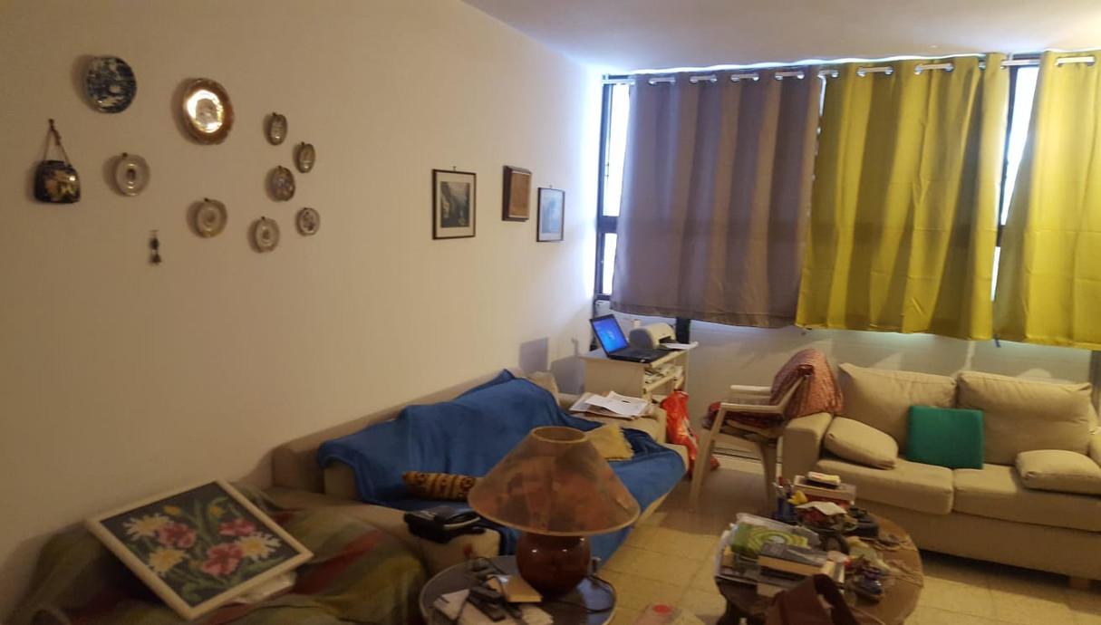 דירה בתל אביב, עיצוב נועה סביר, לפני שיפוץ - 8