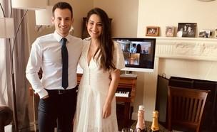 חתונה אליסה שודייב (צילום: אליסה שודייב)