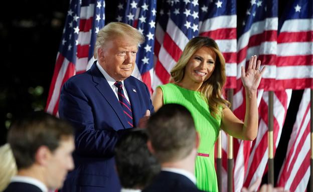 טראמפ בוועידה הרפובליקנית (צילום: רויטרס)