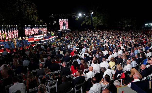 הוועידה הרפובליקנית, הלילה (צילום: רויטרס)