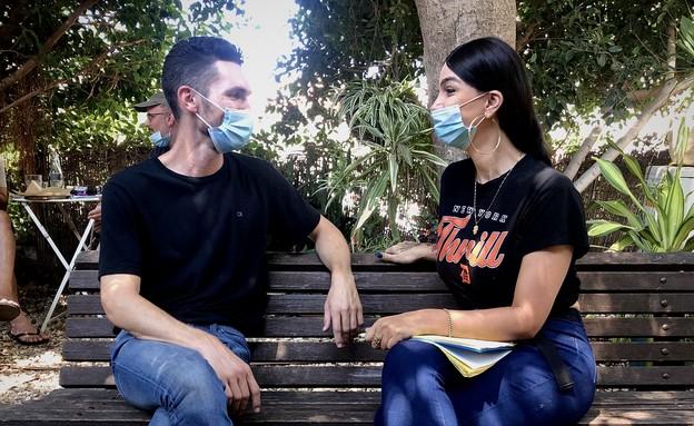 עידן רול ולינור אברג'יל  (צילום: באדיבות המצולמים)