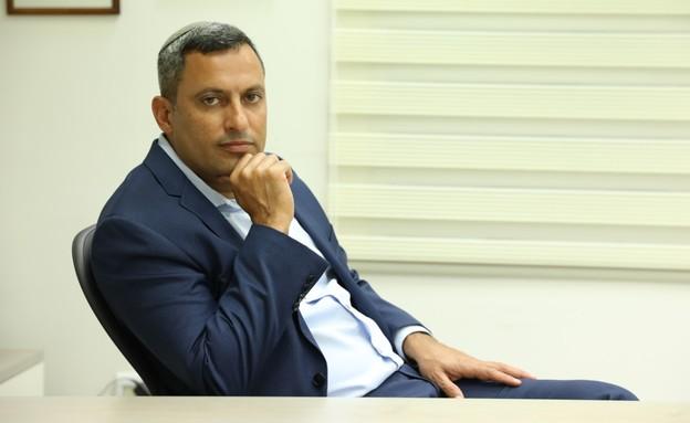 אלון דוידי, ראש עיריית שדרות (צילום: גולן סבג)
