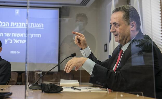 """שר האוצר ישראל כ""""ץ (צילום: פלאש 90)"""