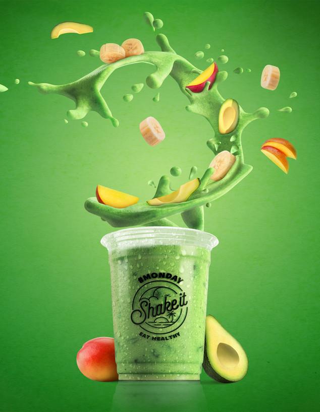 Monday (ירוק) shake it (צילום: FUZION)