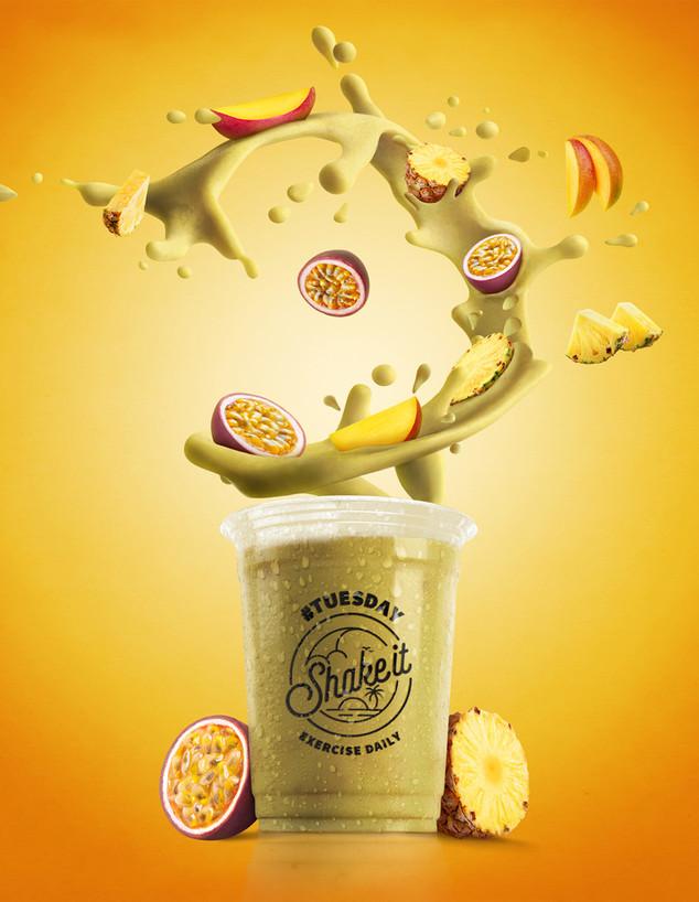 Tuesday (צהוב) shake it (צילום: FUZION)