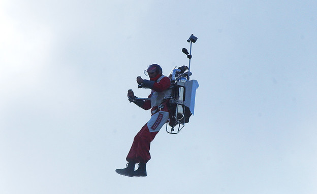 איש בחליפת סילון (צילום: רויטרס)