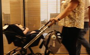 הפרוצדורה שגרמה ללידת תינוקת עם ליקויים במוח (צילום: N12)