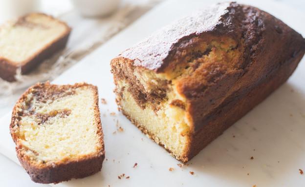 עוגת שיש וניל-מייפל (צילום: קרן אגם, אוכל טוב)