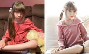 תמונותיה של בת 8 שימשו ליצירת בובת מין (צילום: ChildRescueCoalition/twitter)