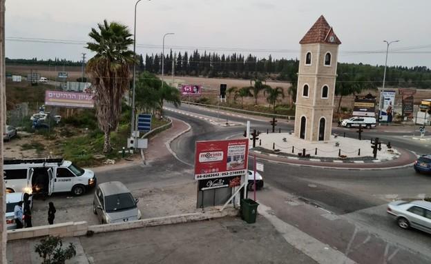 עוצר לילי בבאקה אל גרבייה (צילום: החדשות 12)