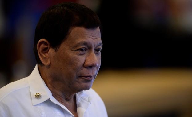 רודריגו דוטרטה, נשיא הפיליפינים  (צילום: NOEL CELIS/AFP, Getty Images)