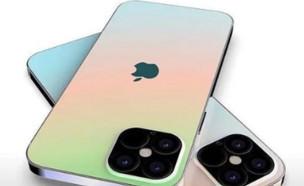 קונספט של אייפון 12, יגיע בארבעה דגמים שונים (צילום: instagram)