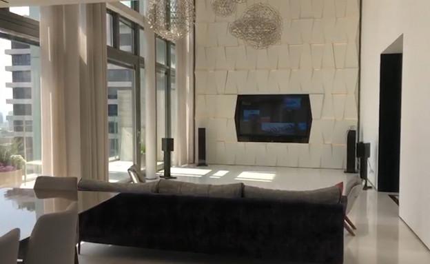 אייל גולן מכר את הפנטהאוז במיליונים (צילום: ערב טוב עם גיא פינס, קשת 12)