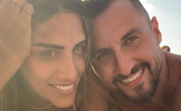 פאני בוזגלו ובן הזוג החדש. ספטמבר 2020 (צילום: אינסטגרם)