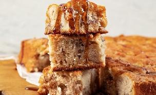 עוגת תפוחים וקינמון שנמסה בפה (צילום: סופגי גואטה, מתוק בבית, הוצאת תכלת)