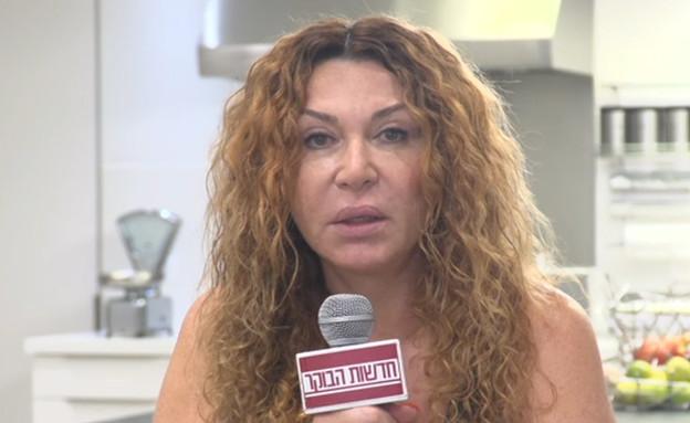 """נעמי קניון זועמת על שחרורה של פרסיליה קשתי (צילום: מתוך """"חדשות הבוקר"""" , קשת 12)"""