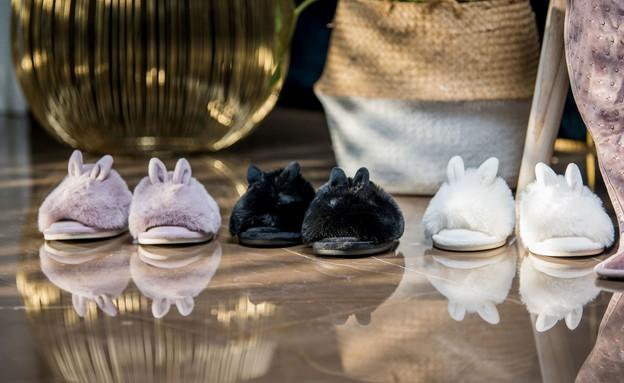 ראש השנה 2020, נעלי בית ורדינון (צילום: תמי בר שי)