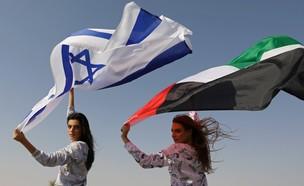 קמפיין ישראלי - אמירטי ראשון (צילום: reuters)