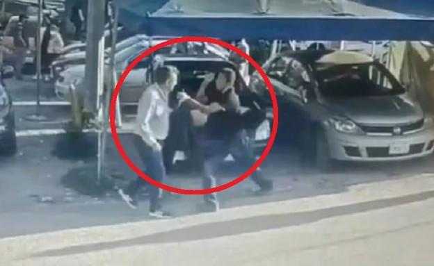 רצח האנס במקסיקו (צילום: צילום מסך youtube)
