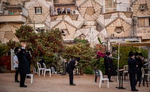 קורונה בישראל, קורונה בירושלים (צילום: יונתן זינדל, פלאש 90)
