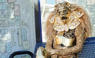 תחפושת אריה בזמר במסכה (צילום: עמוד הפייסבוק של the masked singer)