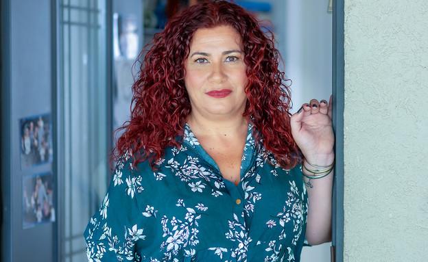 שרון קלדרון אמא של רון (צילום: ג'ני פפרמן)