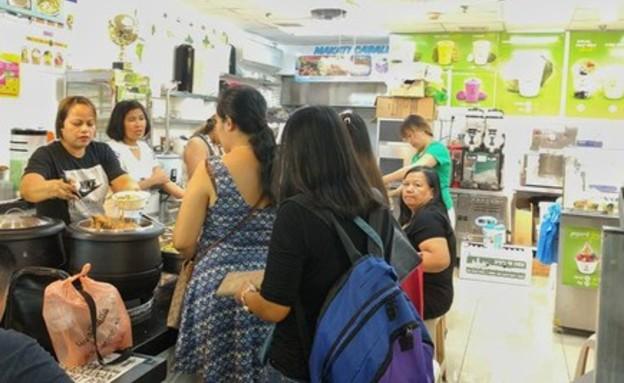 השוק הפיליפיני (צילום: גיל גוטקין)
