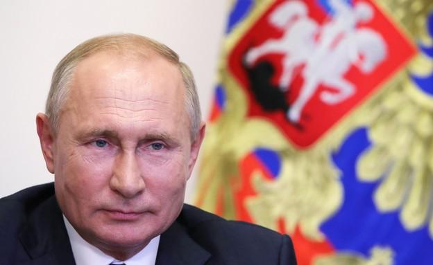 ולדימיר פוטין, נשיא רוסיה  (צילום: MIKHAIL KLIMENTYEV/Sputnik/AFP, Getty Images)