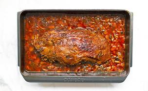 צלי כתף בתנור (צילום: רויטל פדרבוש, אוכל טוב)