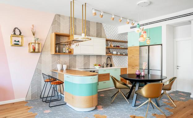 דירה בתל אביב, עיצוב סטודיו רועי זליחובסקי - 11 (צילום: יואב פלד)