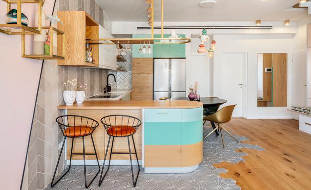 דירה בתל אביב, עיצוב סטודיו רועי זליחובסקי - 13 (צילום: יואב פלד)