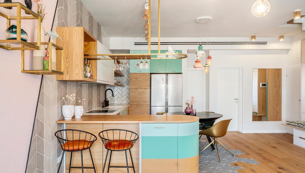 דירה בתל אביב, עיצוב סטודיו רועי זליחובסקי - 13