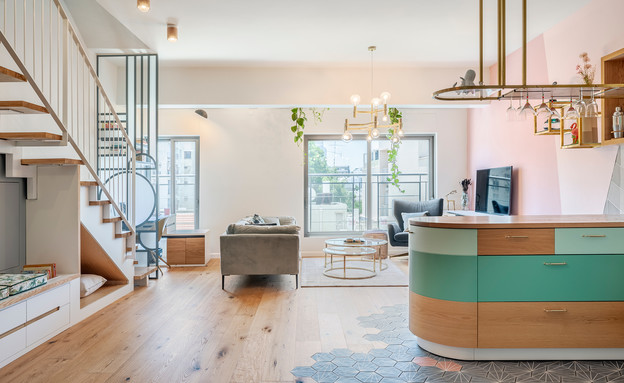 דירה בתל אביב, עיצוב סטודיו רועי זליחובסקי - 15 (צילום: יואב פלד)