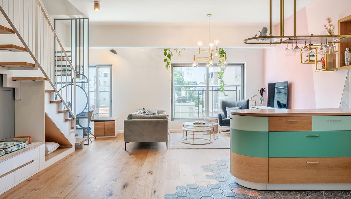 דירה בתל אביב, עיצוב סטודיו רועי זליחובסקי - 15