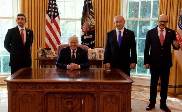 טקס החתימה בבית הלבן